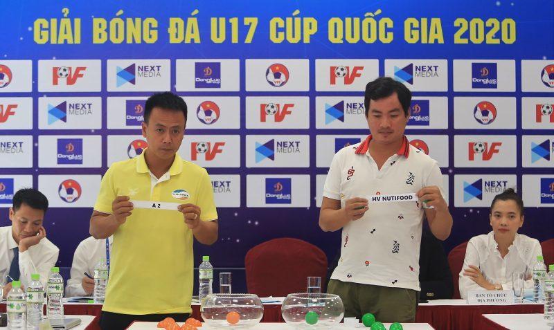 12 đội tranh tài ở VCK U17 Cúp Quốc gia 2020